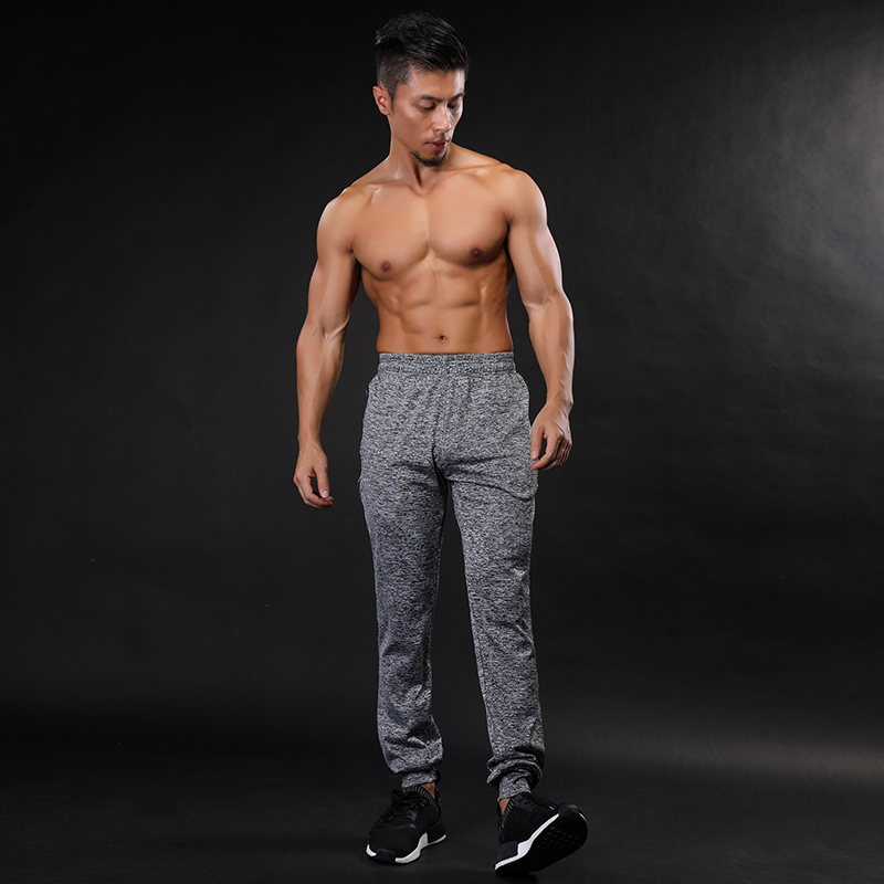 SWENEARO Men Summer Sporting Fitness Male Long Pants