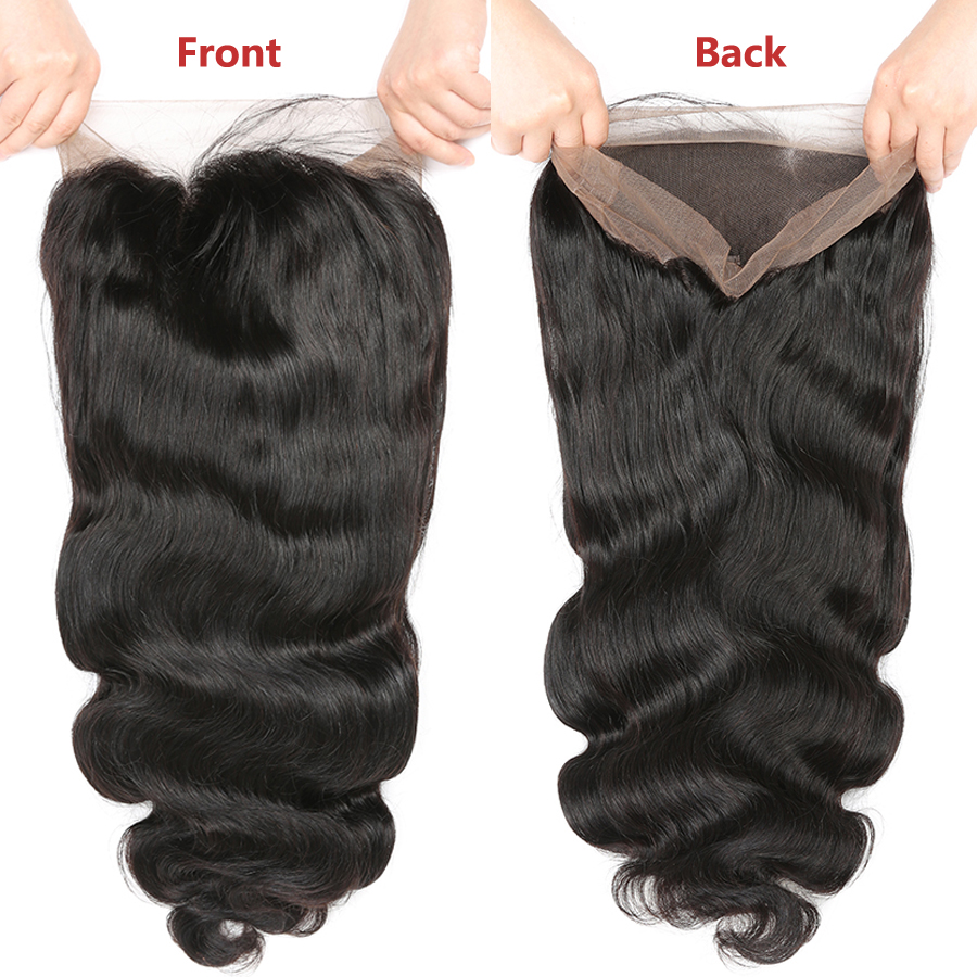 RXY Full Lace Wigs Human Hair With Baby Hair Brazilian Body Wave Pre Plucked Full Lace Human Hair Wigs For Black Women Remy Hair (4)