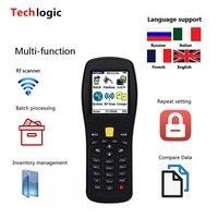 Techlogic X3 Wireless Barcode Scanner Handheld Terminal PDA Wireless Bar Code Reader Laser Barcode Gun Inventory Barcode Scanner