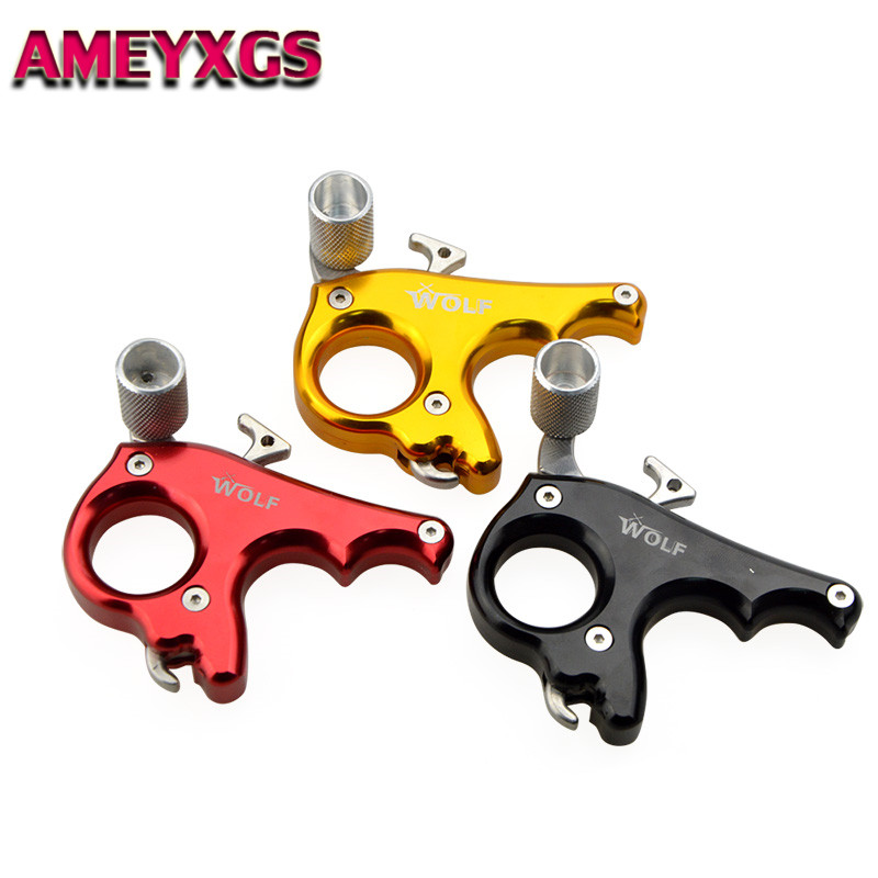 1pc 3 Fingers Grip Caliper Archery Release Aids Compound Bow Release Trigger Aids Gear For Outdoor Hunting Shooting Accessories1pc 3 Fingers Grip Caliper Archery Release Aids Compound Bow Release Trigger Aids Gear For Outdoor Hunting Shooting Accessories