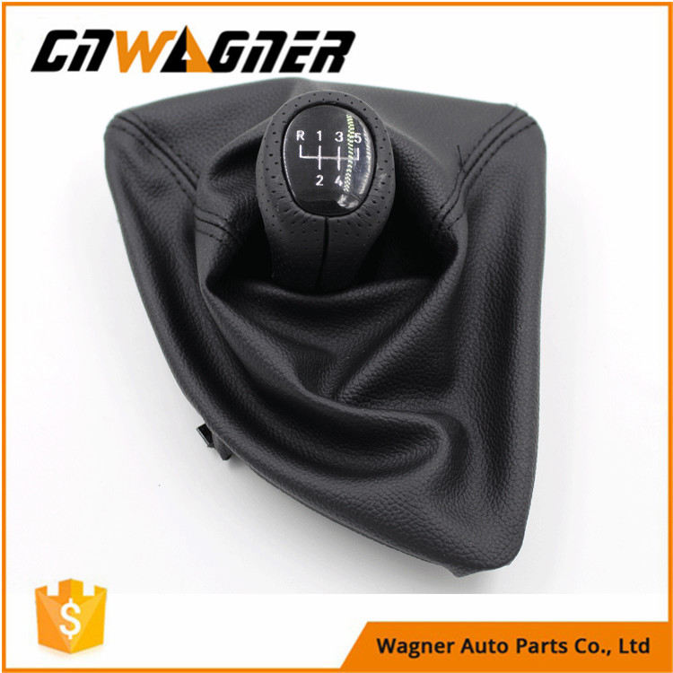 CNWAGNER New Arrival Leather Gear Shift Knob for BMW E87 X1