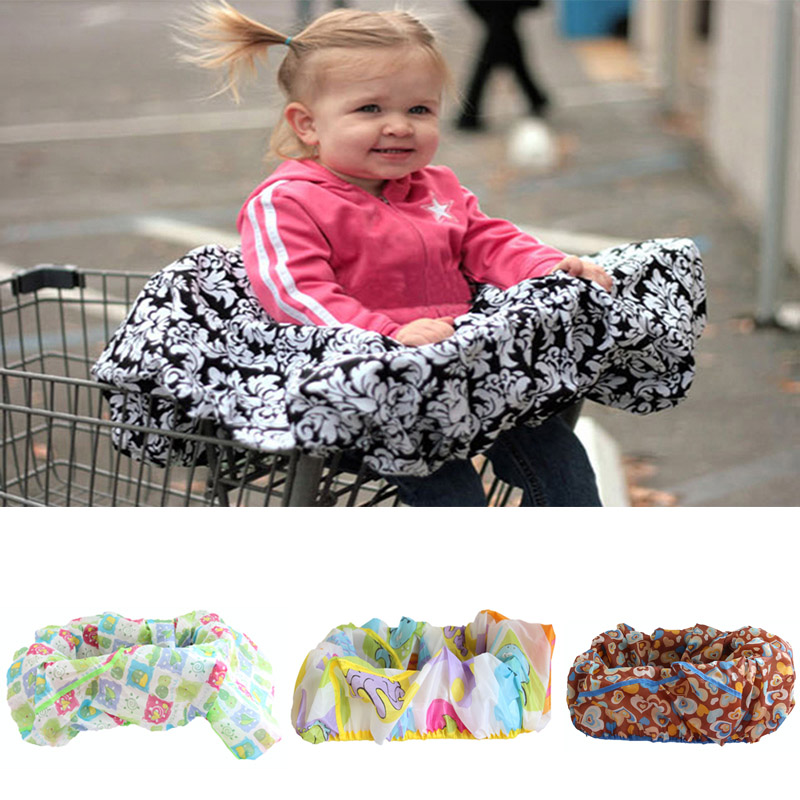 Fashion Infant Supermarket Shopping Cart Cover Baby Seat Pad Anti-dirty Cover Kids Traveling Seat Cushion No Dirty Portable