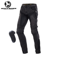 New Motorcycle Protective Jeans Motocross Men's Off road Outdoor Jean Motobike Riding Pants with CE Pads Hip protectors Jeans