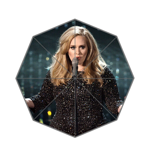 Fashion Design Umbrella Custom Charming Adele Adkins Folding Umbrella For Man And Women Free Shipping UPC-277
