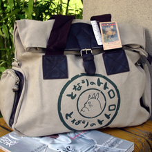 Hot Selling Anime Cosplay Canvas My Neighbor Totoro Durable font b Handbags b font Shoulder Bag