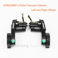 A380 Robot Vacuum Cleaner Wheels Left Wheel X 1pc Right Wheel X 1pc