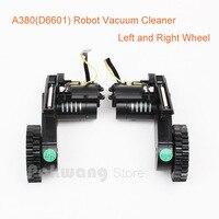 A380 Robot Vacuum Cleaner Wheels Left Wheel X 1pc Right Wheel X 1pc