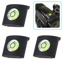 5pcs Camera Flash Hot Shoe Protector Cover Cap Bubble Spirit Level For DSLR Camera Sony A6000 Canon Nikon Fuji Panasonic 2 in 1