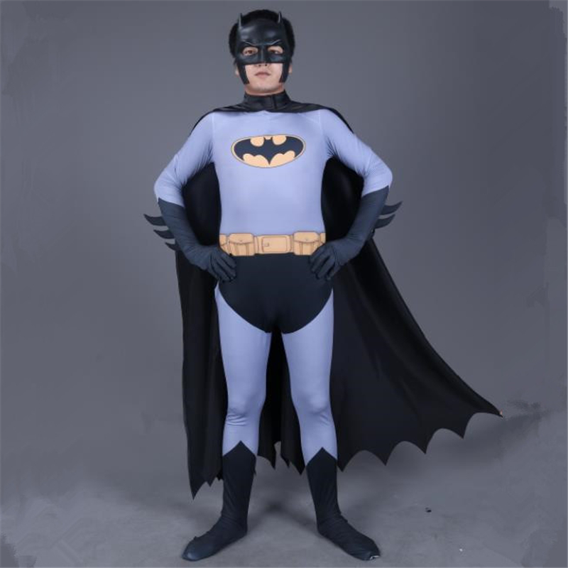 Halloween Masquerade Game Party Cosplay Clothes Batman Siamese Clothes Men's One Piece