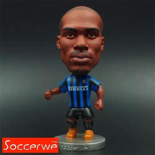 Football star Soccer Star 7# KONDOGBIA (IM-2016) 2.5 Action Dolls Figurine