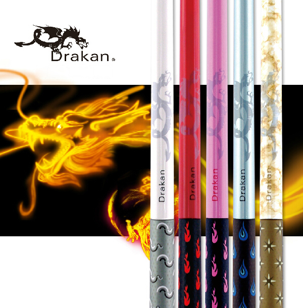 New Drakan DM Pool Cue 2 Pieces Pool Cues Stick 147cm 12 75mm Tip Billiard Stick