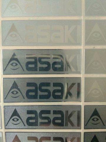 etiqueta do metal etiqueta logotipo