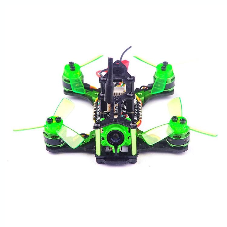 Happymode Mantis 85 Micro FPV Racing Drone BNF กับ Frsky D8/Flysky 8ch/สนับสนุน Specktrum DSM/X อุปกรณ์รับสัญญาณ-ใน ชิ้นส่วนและอุปกรณ์เสริม จาก ของเล่นและงานอดิเรก บน   1
