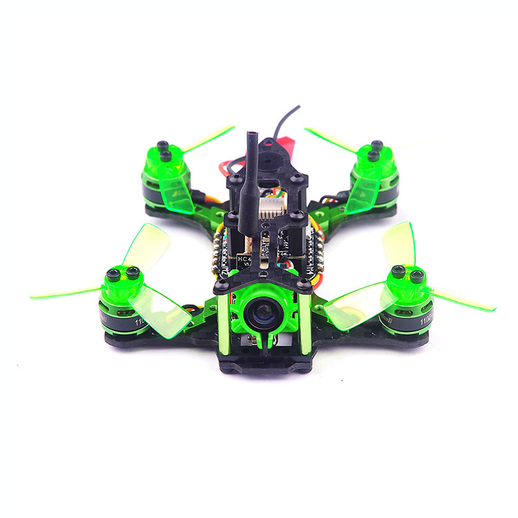 Happymode Mantis 85 Micro FPV Racing Drone BNF with Frsky D8 / Flysky 8ch / Support Specktrum DSMX DSM2 Receiver Accessory kingkong tiny 7 micro fpv racing quacopter dsm2 receiver yellow