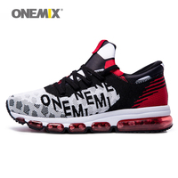 ONEMIX Men&Women Sport Shoes Air Cushion 2018 Max US Size 12 Trainers Exercise Sneakers 5 Colors Running Shoe Man Runner