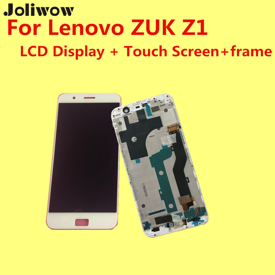 High quality FOR- Lenovo ZUK Z1 LCD Display+Touch Screen +Frame+ Tools Digitizer Assembly Replacement Accessories For Phone high quality 5 3 for lenovo s898 s898t lcd display touch screen digitizer assembly replacement tools free shipping