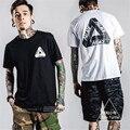 Tide brand Palace Skateboards Classic Triangle Print Mens Hip hop Summer Noah Clothing Gosha Rubchinskiy Cotton swag Men T shirt