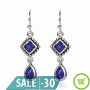 New-Fashion-Silver-Plated-Hanging-Gem-Stone-Rhinestone-Long-Earrings-For-Women-Jewelry-Wholesale