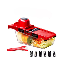 Vegetable Slicer Potato Peeler Carrot Onion Grater with Strainer Vegetable Cutter 7 in 1 Kitchen Accessories variability in onion allium cepa l