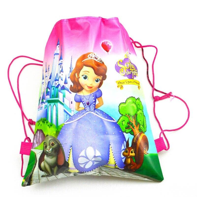 meninas & meninos caráter impressão Name : School Bag