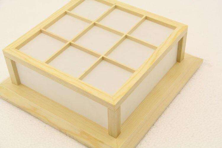 Moderna četverokutna ploča od hrastovog drveta, PVC drvena stropna - Unutarnja rasvjeta - Foto 5