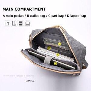 Image 3 - Scione erkekler katı iş dizüstü sırt çantası gizle omuz askısı çanta erkekler kadınlar için öğrenci şifreli kilit eğlence okul sırt çantası
