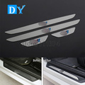 Nulla Car Styling Power Door stainless steel Scuff Guards Plate Pedalst Cover Decoration Trim For BMW 3 Series F30 316i 320i