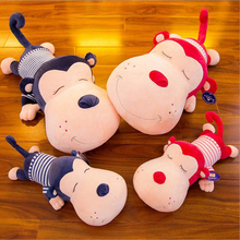 Lovely Wearing Clothe Monkey Plush Toy Stuffed Animal Plush Doll Children Birthday Christmas Gift стоимость