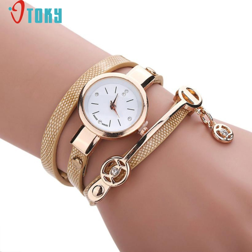 Excellent Quality OTOKY Fashion New Style Leather Casual Bracelet Watch Wristwatch Women Dress Watches Relogios Femininos Watch free shipping notebook screen for lenovo thinkpad e450 laptop lcd screen display 1920 1080 edp 04x5882 b140htn01 4