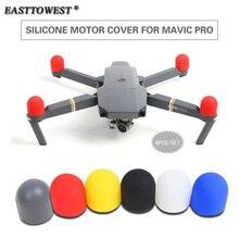 Easttowest DJI Drone Mavic Pro Accessories 4pcs/set Silicone Motor Cover Protector Cap for DJI Mavic Pro