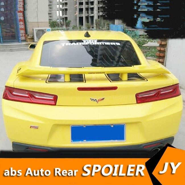 Eerzuchtig Voor Chevrolet Camaro Spoiler 2009-2016 Camaro Spoiler Hoge Kwaliteit Abs Materiaal Auto Achtervleugel Primer Kleur Achterspoiler