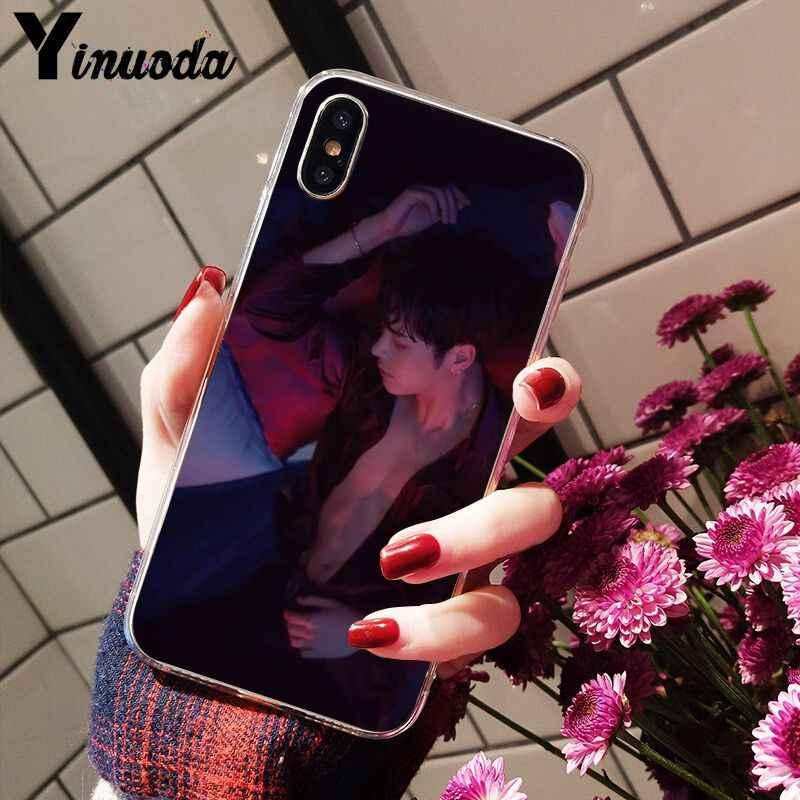 Yinuoda GOT7 Jackson Wang โปร่งใส Tpu ซิลิโคนโทรศัพท์สำหรับ iPhone X XS MAX 6 6S 7 7plus 8 8Plus 5 5S XR