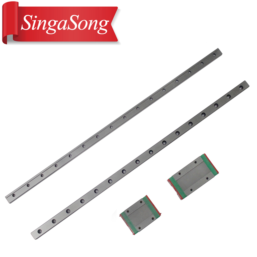 12mm For Linear Guide MGN12 510mm L= 510mm For Linear Rail Way + MGN12C Or MGN12H For Long Linear Carriage For CNC X Y Z Axis