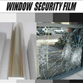20INx10FT/ 50CMX300CM Shatter-Proof Window Film Security and Safety  Window Film for Building / Office / Vehicle Window Glass