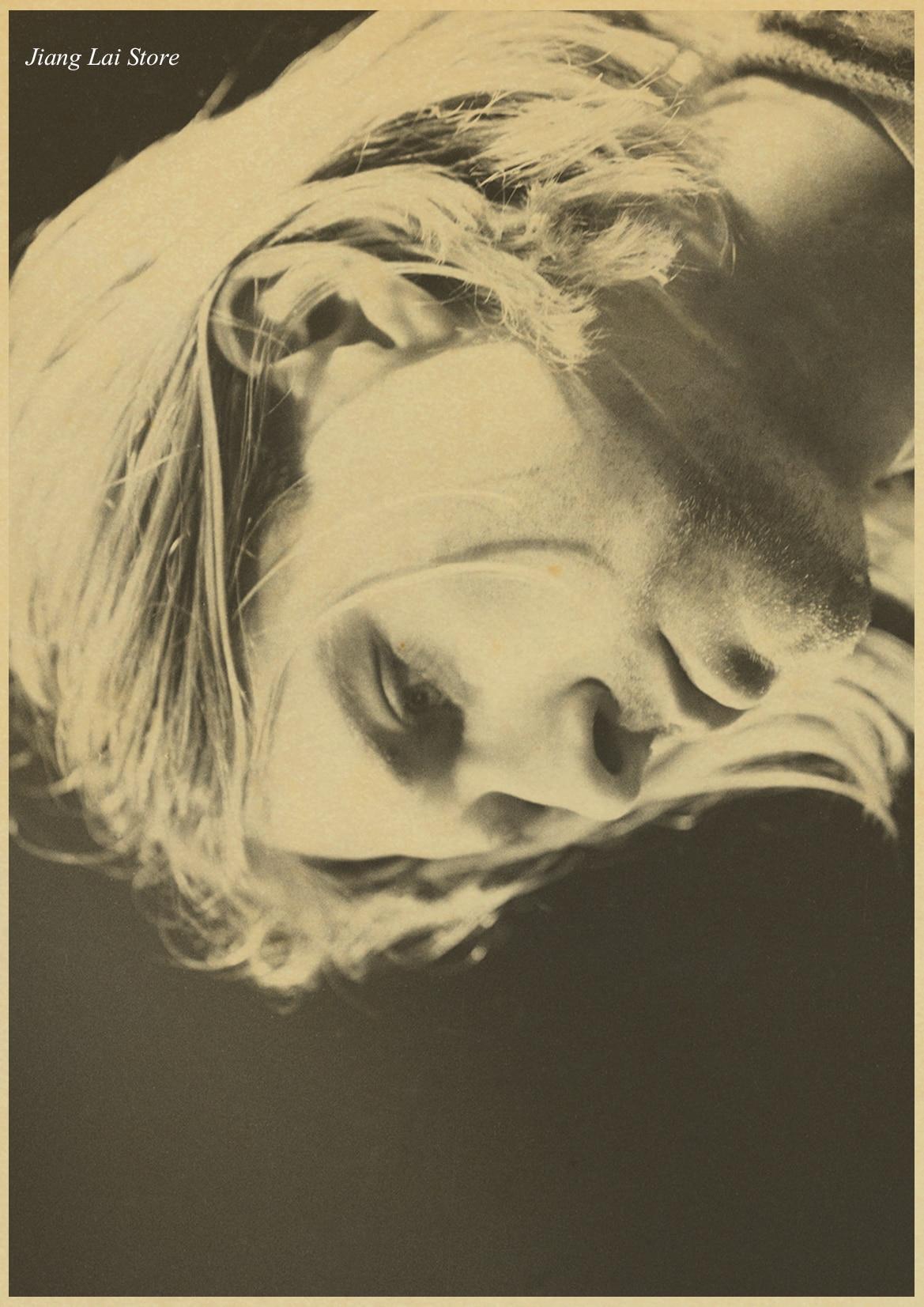 Nirvana Kurt Cobain Rock band Poster Home Furnishing decoration ...