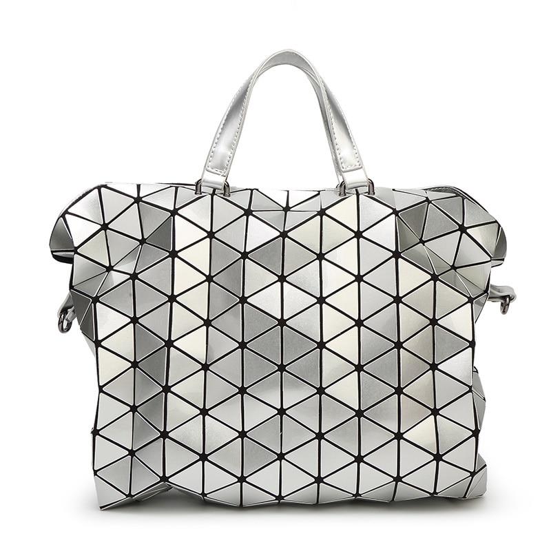 losango treliça triangular emenda moda Tipos de Sacos : Top-handle Bags
