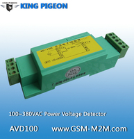 AC Power Voltage Detector Monitoring 100 380VAC Power Voltage Status Base Transceiver Station Digital Detector AVD100