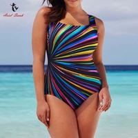 Ariel Sarah Brand 2017 Bathing Suit Women Colorful Plus Size Swimwear Swimsuit Sexy Monokini Maillot De