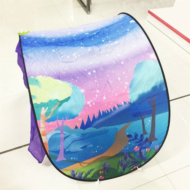 EASY BIG Indoor And Outdoor Folding Ocean Ball Pool Pit Game Tent Play Hut Dream Tent Playhouse Kids Children Toy Tent TH0026