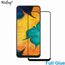 2PCS Full Glue Screen Protector For Samsung Galaxy A40 Tempered Glass Cover for A405 9H 2.5D Premium Film
