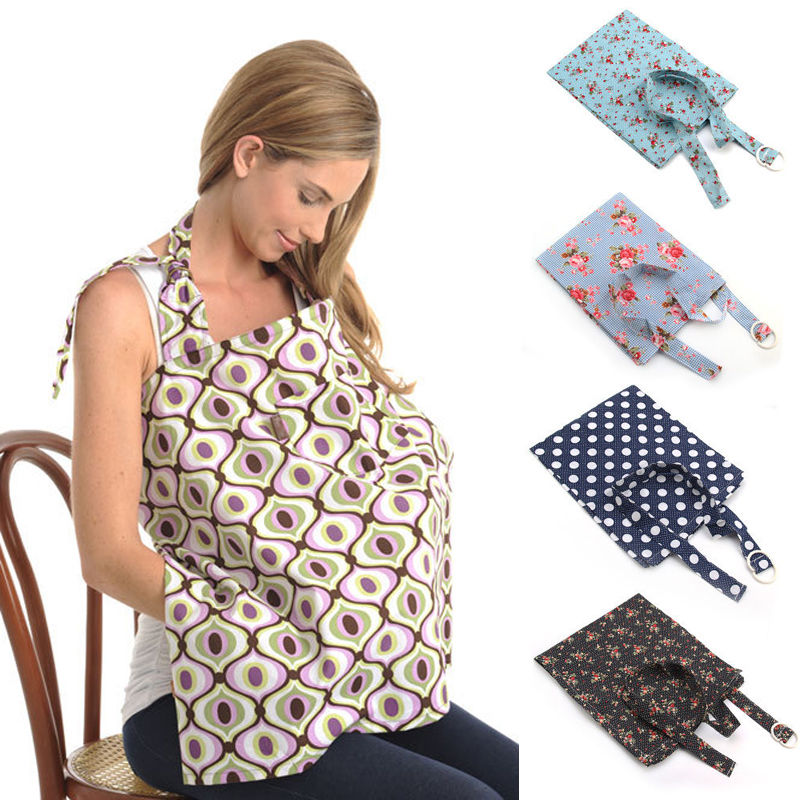 Baby Mum Breastfeeding Cover Nursing Apron Cover Up Baby Poncho - nursing cover