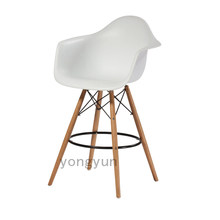 BAR CHAIR BAR STOOL PLASTIC CHAIR WOODEN PLASTICARM CHAIR STOOL dining chair(China)