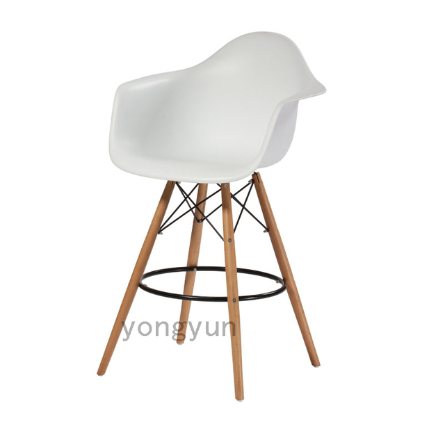replik bar stuhl barhocker kunststoff stuhl holz plasticarm stuhl esszimmerstuhl - Stuhl Replik