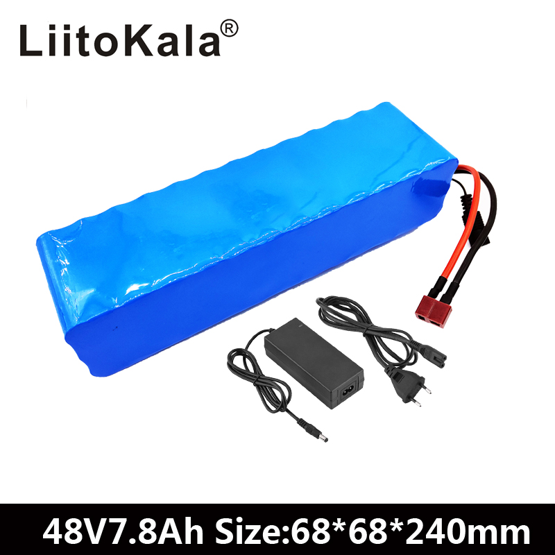 LiitoKala 48V 7.8ah 13s3p High Power 18650 Battery Electric Vehicle Electric Motorcycle DIY Battery BMS Protection+2A ChargerLiitoKala 48V 7.8ah 13s3p High Power 18650 Battery Electric Vehicle Electric Motorcycle DIY Battery BMS Protection+2A Charger