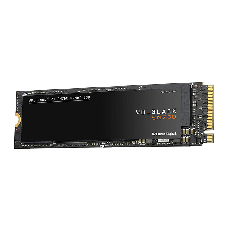 <font><b>WD</b></font> <font><b>SSD</b></font> Black NVMe 3D NAND <font><b>500GB</b></font> M.2 2280 <font><b>SSD</b></font> WDS500G2X0C Solid State Drive Disk 3400MB/S PCIe Gen3 8Gb/s for PC Laptop notebook image
