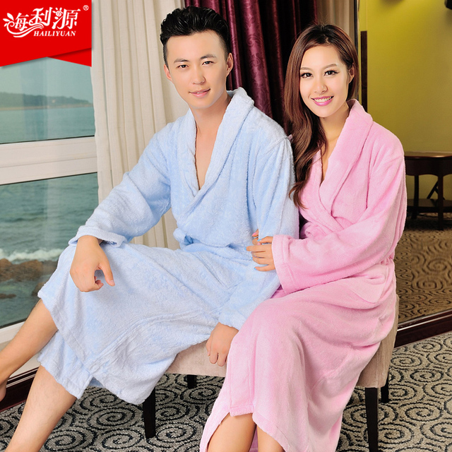 Spring hot sale Terry Cloth Bathrobe Robe Eco Friendly Gift Bamboo bathrobe