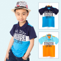 Summer Brand Clothing T Shirt Children Classic Sport Cheaper Tees Boys Letter Pattern T-Shirts Kids Polo Shirts Short Sleeves