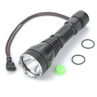 Ultrafire Aluminum Light Flashlight XM LT6 18000LM 1 Mode LED Torch Lantern Hunting LED Camping Tactical Switch 18650 Flashlight
