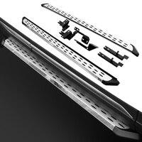 2 PCS Nerf Bar Platform Iboard Side Step for Ford KUGA Escape 2012 2018 Running Board