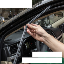 lsrtw2017 PVC car door window sealing strips for skoda octavia a2 a5 a7 fabia rapid yeti superb kodiaq Karoq
